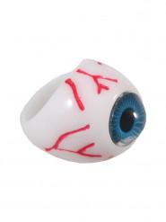 Anillo ojo azul adulto