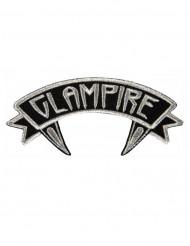 Parche Kreepsville glampire gris y negro