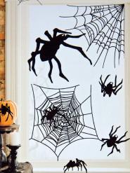 Lote de 24 pegatinas arañas Hallowen