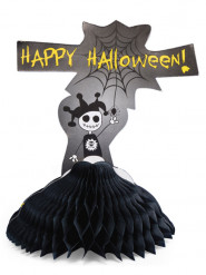 Centro de mesa negro Happy Halloween