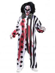 Disfraz de payaso sangriento Hombre Halloween