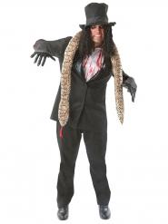 Disfraz zombie rockero Halloween