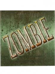 Servilletas zombie verde