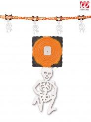 Guirlanda esqueleto naranja