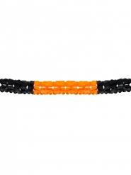 Guirnalda naranja y negro Halloween