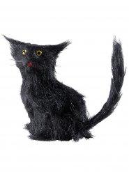 Gato negro 12 cm Halloween