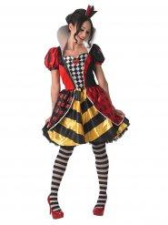 Disfraz reina de corazón mujer - Alicia en el país de las maravillas™