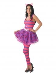 Disfraz gato Cheshire de Alicia en el país de las maravillas™ mujer