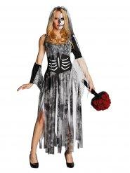 Disfraz de novia esqueleto Hallowen Mujer