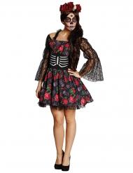 Disfraz de esqueleto Día de los muertos Halloween