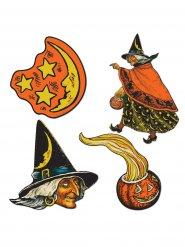 Kit decoración bruja Halloween
