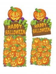 Decoración mural calabaza Happy Halloween
