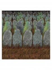 Decoración mural cementerio