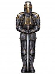 Decoración caballero con armadura 182 cm