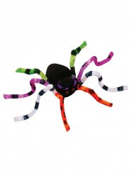 Decoración araña de colores 51 cm