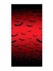 Decoración mural ensangrentada murciélagos Halloween