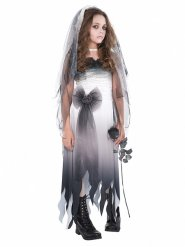 Disfraz novia de ultra tumba adolescente