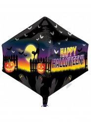 Globo aluminio Happy Halloween 45 x 53 cm