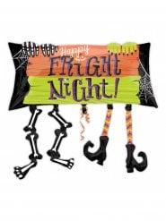 Globo aluminio Happy Fright Night