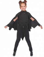 Capa vampiro murciélago negro niños Halloween