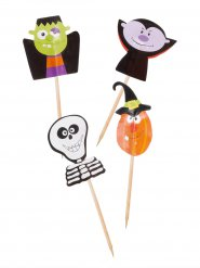 20 Decoraciones cupcakes trick or treat 7 cm