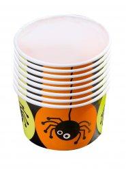 8 Tazones de caramelos araña Halloween