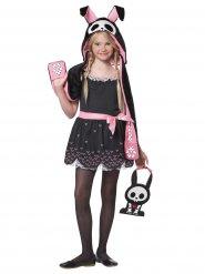 Disfraz conejo esqueleto Halloween niño