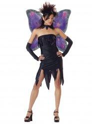 Disfraz hada gótica adolescente