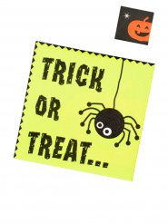 20 Servilletas Trick or Treat 33 x 33 cm