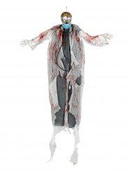 Zombie colgante con ojos brillantes Halloween