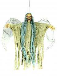 Decoración para colgar esqueleto de ángel de la muerte