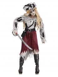 Disfraz pirata fantasma Halloween mujer