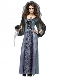 Disfraz Halloween mujer novia zombie