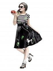 Disfraz zombie años 50 para mujer