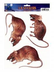 3 Decoraciones para ventana ratas