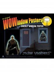 Pegatina ventana Jason Voorhees Viernes 13™ 91 x 152 cm
