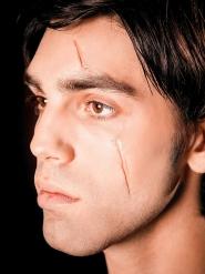 Maquillaje cicatrices falsas Colodión