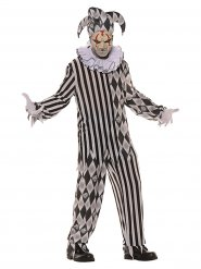 Disfraz arlequín de horror hombre Halloween