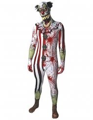Disfraz payaso ensangrentado adulto Morphsuits™ Halloween