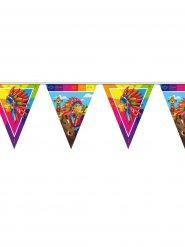 Guirlanda banderines indio 10 m