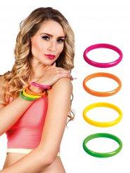 4 Pulseras multicolores