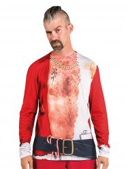 Camiseta colorida Navidad hombre
