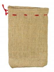 Saco pequeño de Papá Noel 22 x 15 cm