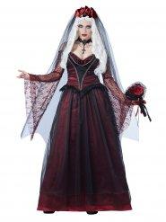 Disfraz de novia vampira gótica mujer Halloween