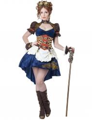 Disfraz retro futurista Steampunk mujer