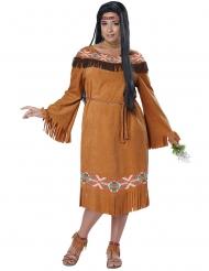 Disfraz de india talla grande mujer
