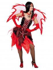 Disfraz de hada diabólica mujer Halloween