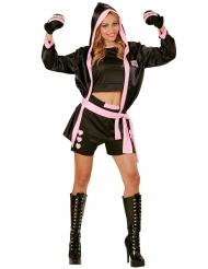 Disfraz campeona de box sexy mujer