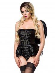 Disfraz ángel gótico mujer