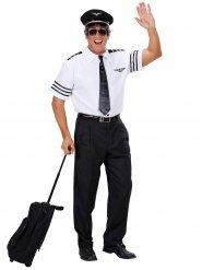 Disfraz comandante a bordo hombre